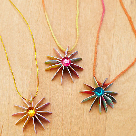 necklace craft ideas make greeting card jewelry 2542