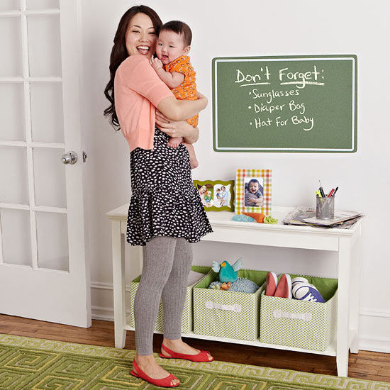 Kitchen Organization For Baby Stuff: How To Organize Your Nursery, Kitchen, And Entryway For Baby