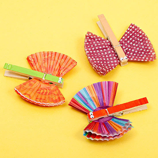 4 things to make with clothespins for Mini clothespin craft ideas