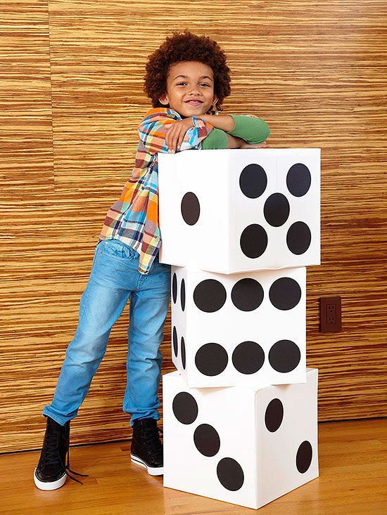 Teach Math With A Supersized Dice Game