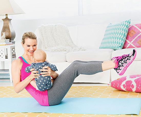Exercise With Baby An Ab Workout For New Moms