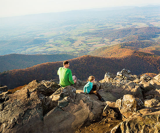 Top Family Trips Shenandoah and
