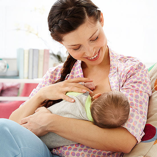 Switching between breastfeeding with formula