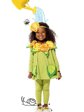 Sweet and Simple Wildflower Costume