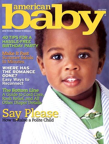American Baby Magazine Modeling Resources