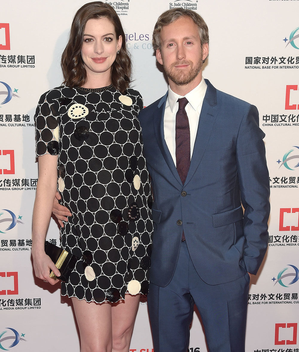 Anne Hathaway Welcomes A Son