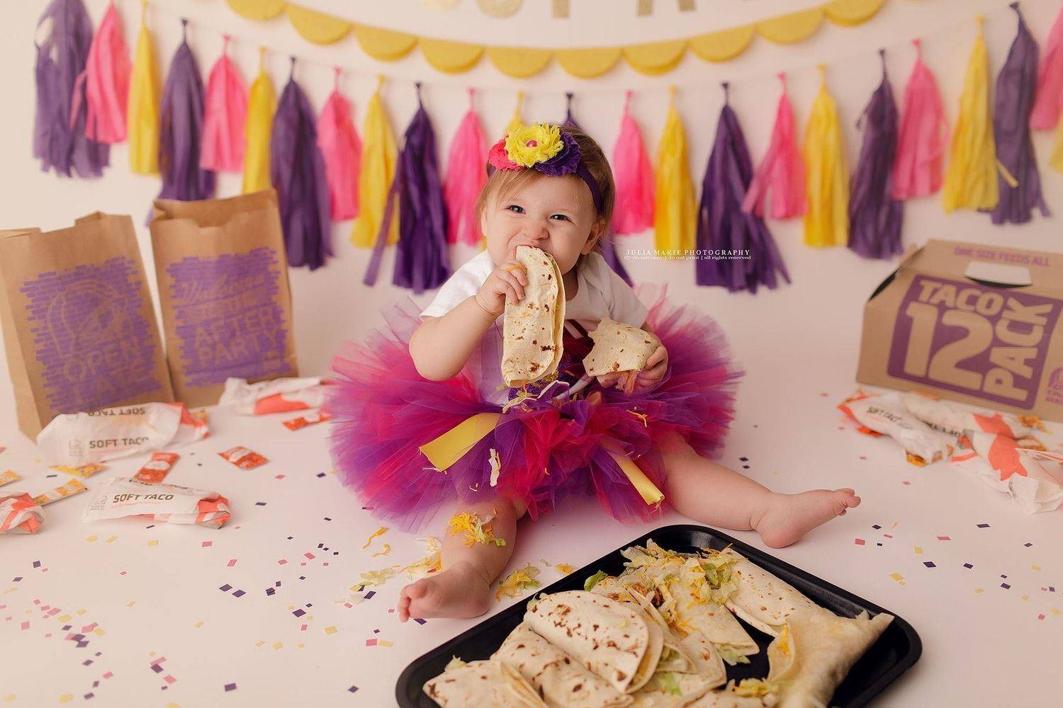 You Have to See This Adorable Taco Bell-Themed First Birthday Smash