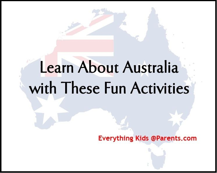 Learn About Australia with These Fun Activities Parents