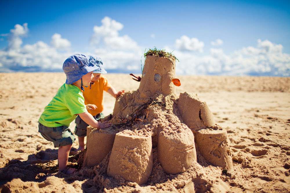 Sandcastle Crafts For Kids