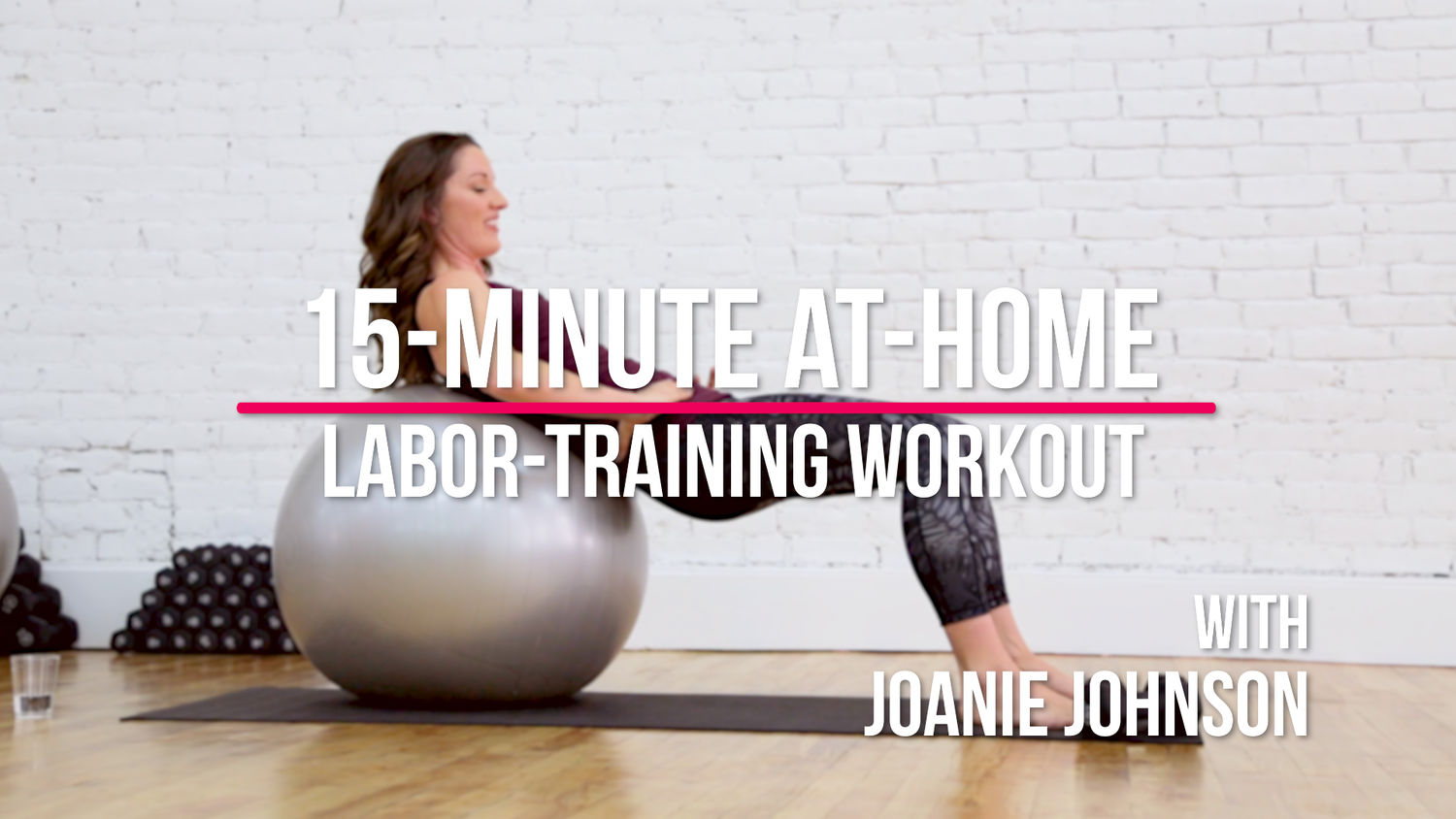 15-Minute At-Home Labor-Training Workout