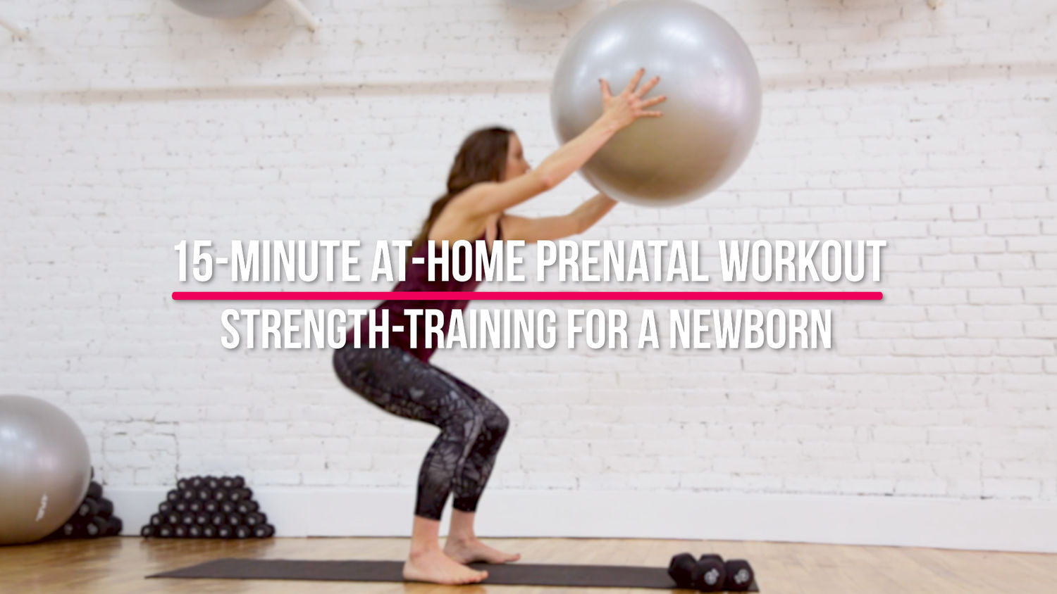 15-Minute At-Home Prenatal Workout