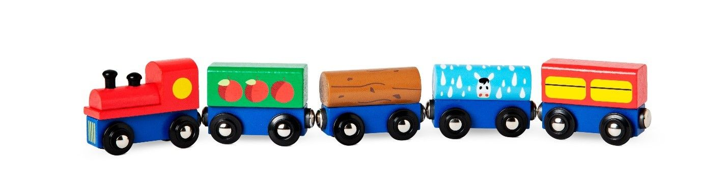 Flying Tiger Copenhagen Recalls Toy Train Carts Due to Choking Hazard