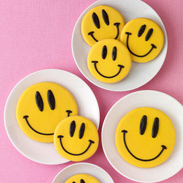 Smiley Face Cookies Parents