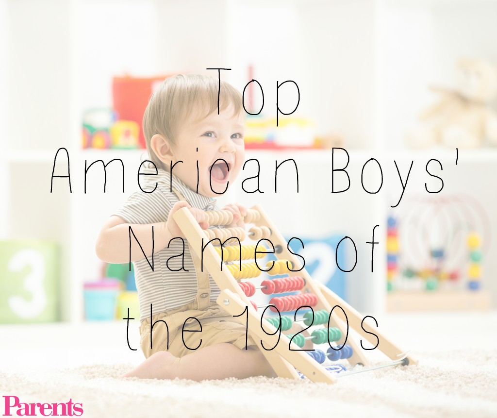 Top American boys' names of the 1920s | Parents