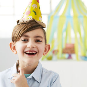 Birthday Craft Hat Party Pizza Cone Hat
