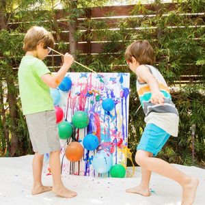 Outdoor Project Painting Balloon Pop Art