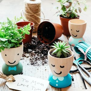 Egg-Cup Planters
