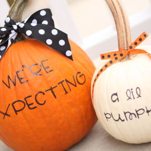 Happenings of Our Home Pregnancy Announcement