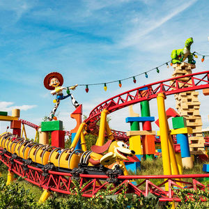Slinky Dog Dash Rollercoaster Disneys Hollywood Studios Orlando