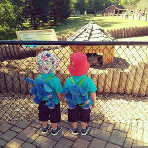 Gina Acevedo Twin Boys