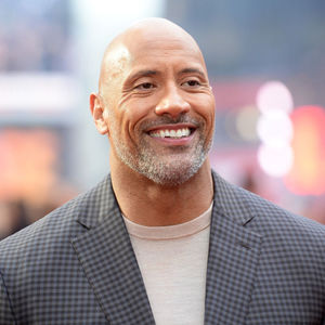 The Rock at Rampage premiere Europe
