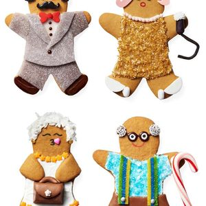 Mix and Match Gingerbread Family