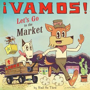 Vamos Let's Go to the Market Book Cover