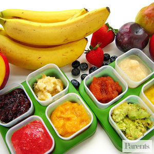 baby food fruit purees
