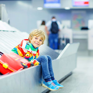plane travel with kids