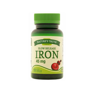 Nature's Truth Iron Supplement Bottles Recall 17149