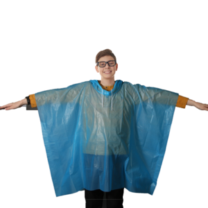 JW Crawford Recalls Children's Rain Ponchos Due to Strangulation Hazard recall image