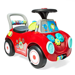 red slugbug radio flyer busy buggy automobile for toddlers