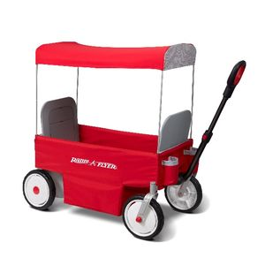 Radio Flyer Recalls Children's Electric Wagons Due to Injury Hazard Red eWagon