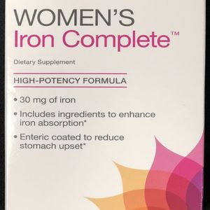 Women's Iron Complete Supplements Recalled by GNC Due to Failure to Meet Child Resistant Closure Requirement; Risk of Poisoning recall image