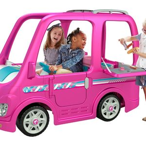 Fisher-Price Recalls Children's Power Wheels Barbie Campers Due to Injury Hazard recall image