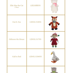 The Beaufort Bonnet Company Recalls Handmade Knit Dolls Due to Injury Hazard recall image