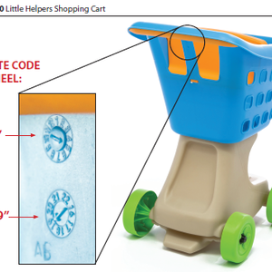 Step2 Recalls Children's Grocery Shopping Carts Due to Laceration Hazard recall image