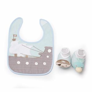 DEMDACO Recalls Infant Bib and Bootie Sets Due to Choking Hazard recall image