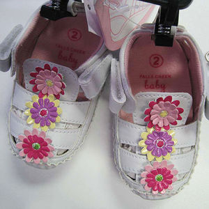 "American Boy and Girl Infant ""Susan"" Sandals Recalled recall image"