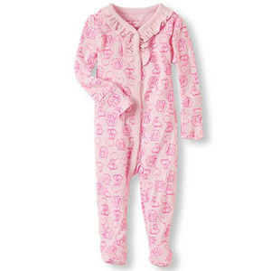 The Children's Place Footed Pajamas Recalled recall image