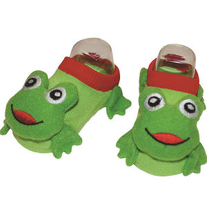 Classic Characters Infant Froggy Socks Recalled recall image