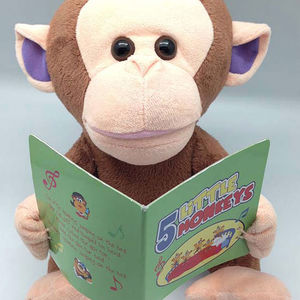 Giggles International Animated Monkey Toy Recalled recall image