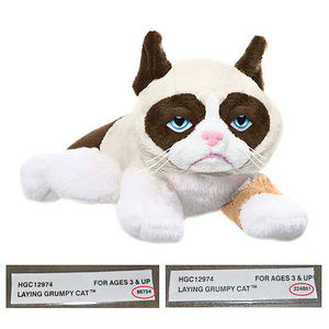 Ganz Grumpy Cat Stuffed Animal Toys Recalled recall image