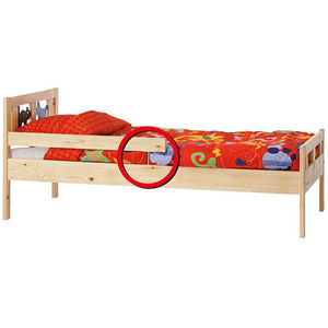 IKEA KRITTER and SINGLAR Junior Beds Recalled recall image