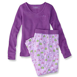 L.L. Bean Girl's Pajama Sets Recalled recall image