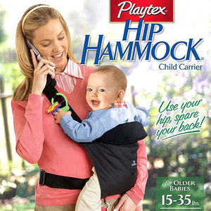 Playtex Hip Hammock Infant Carriers Recalled recall image