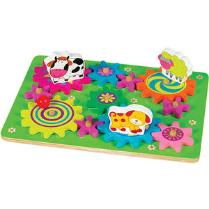 Small World Toys Spin-A-Mals Farm and Safari Puzzles Recalled recall image