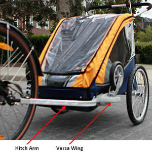 Chariot Carriers Child Bicycle Trailers and Conversion Kits Recalled recall image