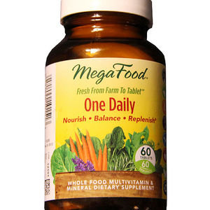 FoodState MegaFood One Daily Supplement Bottles Recalled recall image