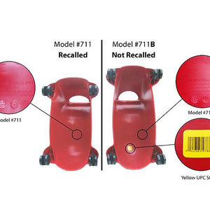 Radio Flyer Scoot 'n Zoom Children's Riding Toy Recalled recall image